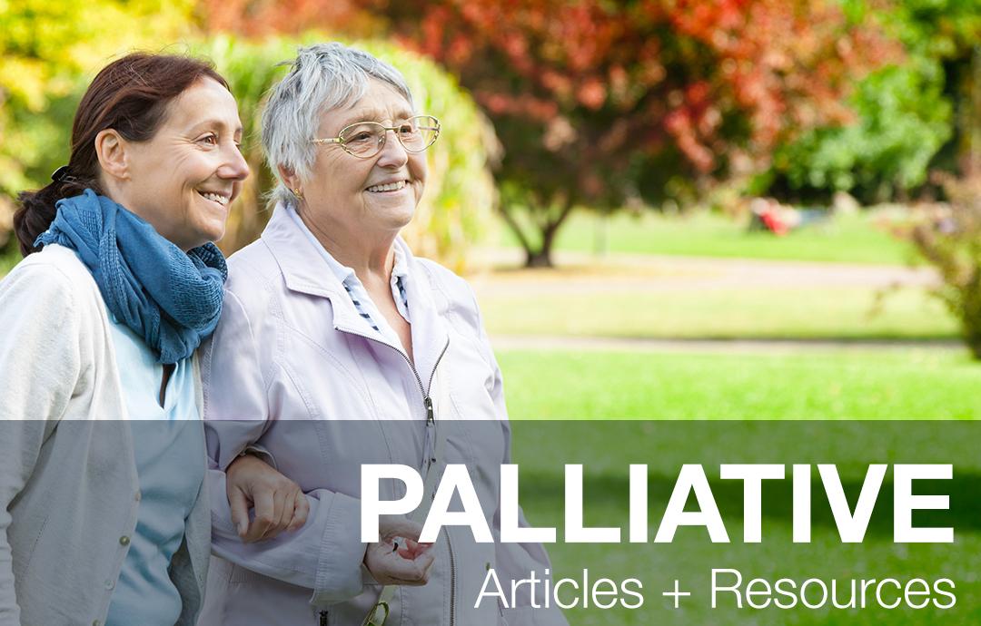 Palliative - Walking with Caregiver