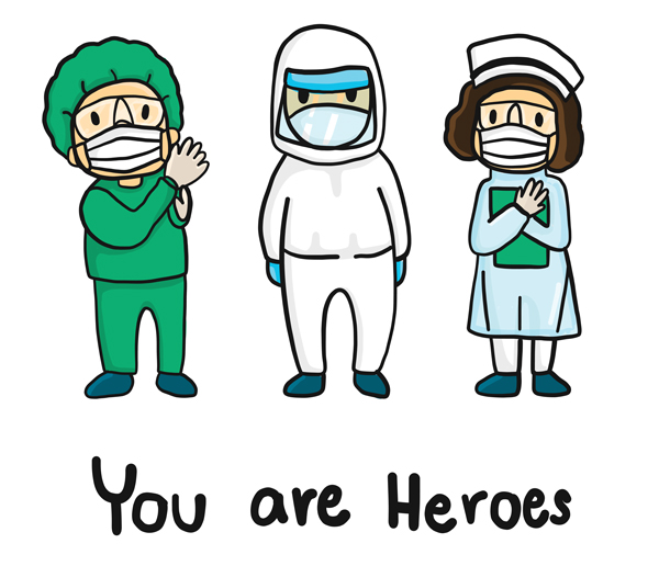 COVID-you-are-heroes